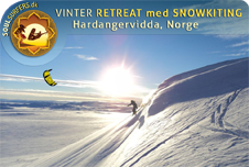 Vinter-retreat med Snowkiting