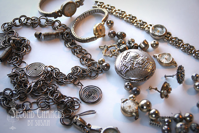 how to take apart a pocket watch