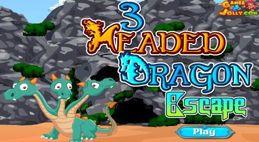 3 Headed Dragon Escape Walkthrough