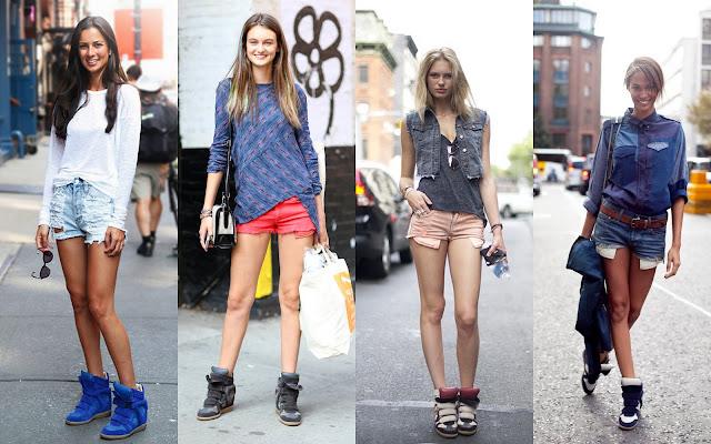 С чем носить высокие кеды, а также модные кеды весна 2014
