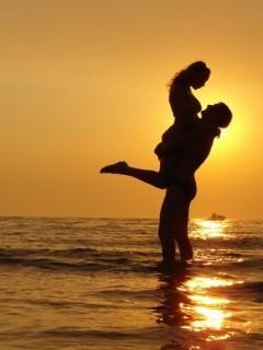 Sunset couple Quotes. QuotesGram