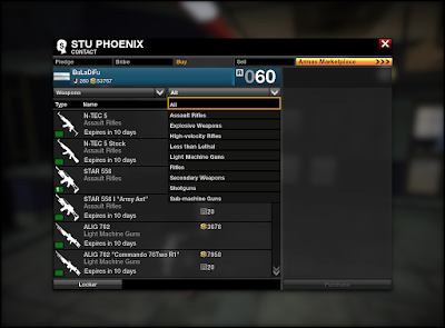 APB Reloaded - Weapons Category
