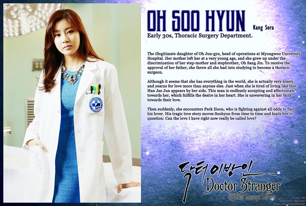 Kang So-Ra sebagai Oh Soo-Hyun
