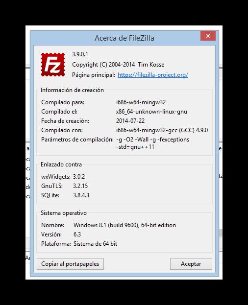 FileZilla 3.9.0