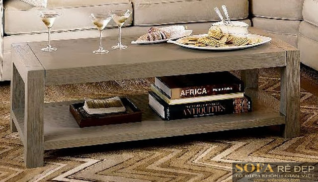 Bàn sofa gỗ BS014