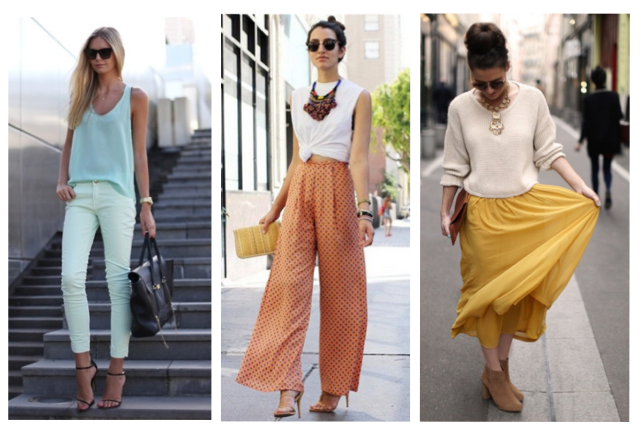 Fashion Trends: Summer-Fall Transition