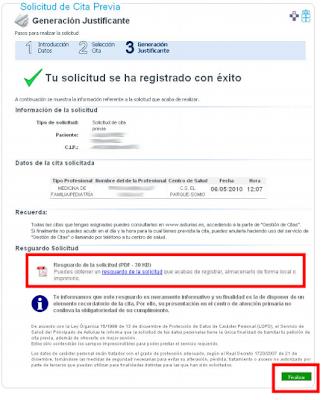 cita medico asturias