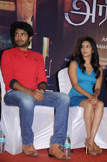 Actress Priya Anand Pictures in Short Dress at Arima Nambi Movie Press Meet 0032.jpg