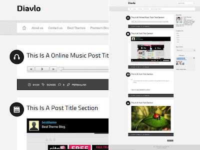 Download Diavlo Blogger Template