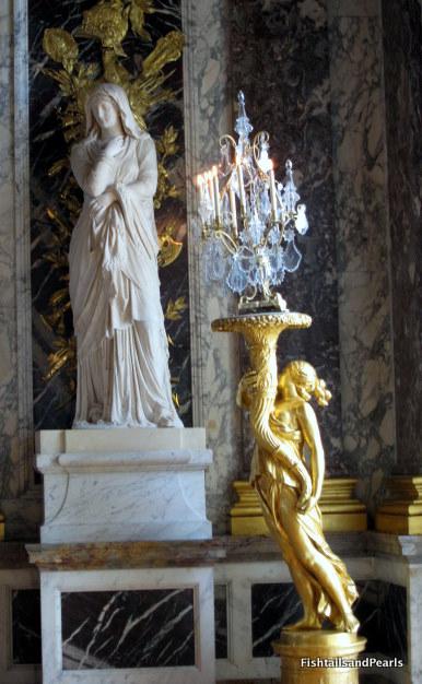 Fishtails And Pearls Chandeliers Of Versailles