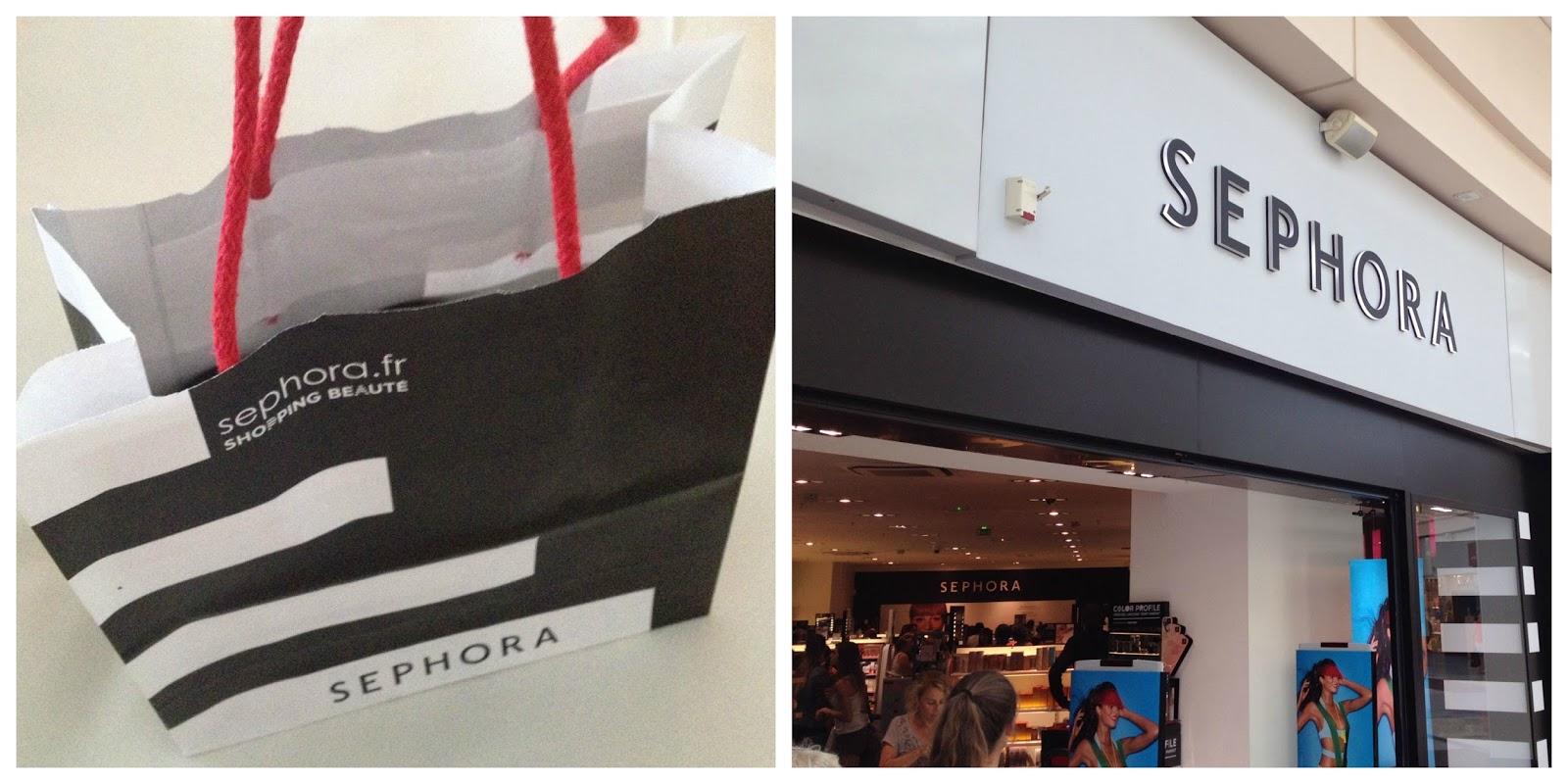 Sephora Store haul