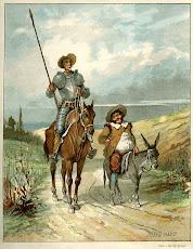 El ingenioso hidalgo don Quijote de la Mancha.