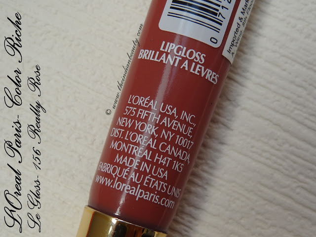 loreal le gloss really rose (4)
