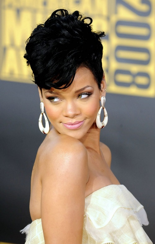 2013 Mohawk Hairstyles for Black Women