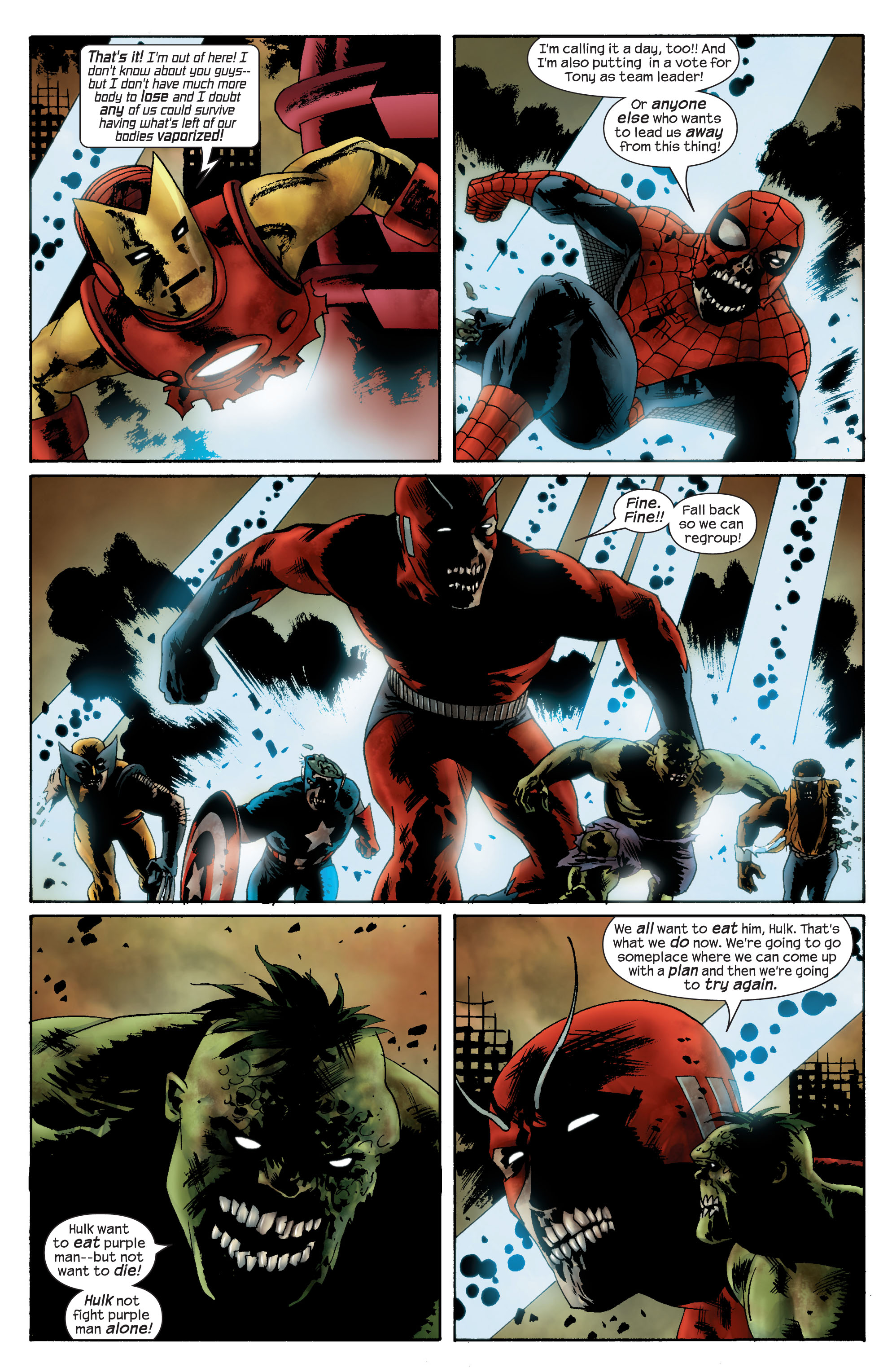 Marvel Zombies (2006) Issue #4 #4 - English 6
