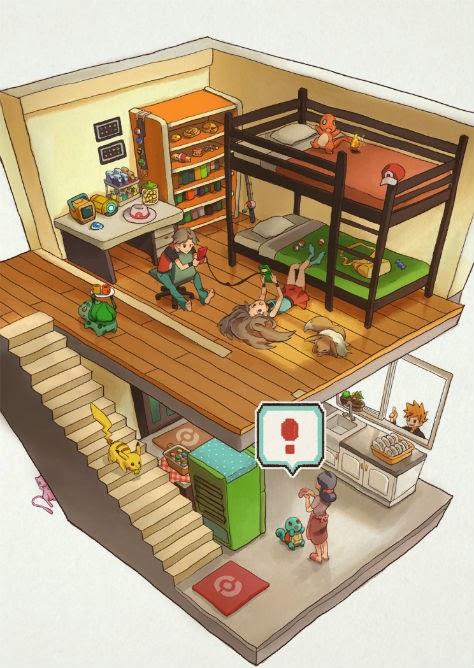 Pokémon 3D house