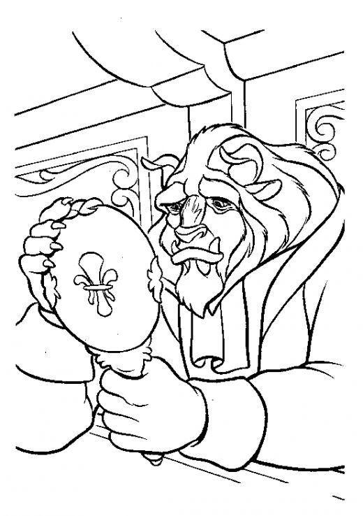 disney beauty and the beast coloring pages - fun coloring pages beauty and the beast coloring pages
