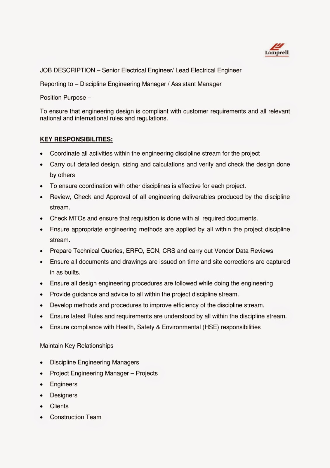 technical consultant job description