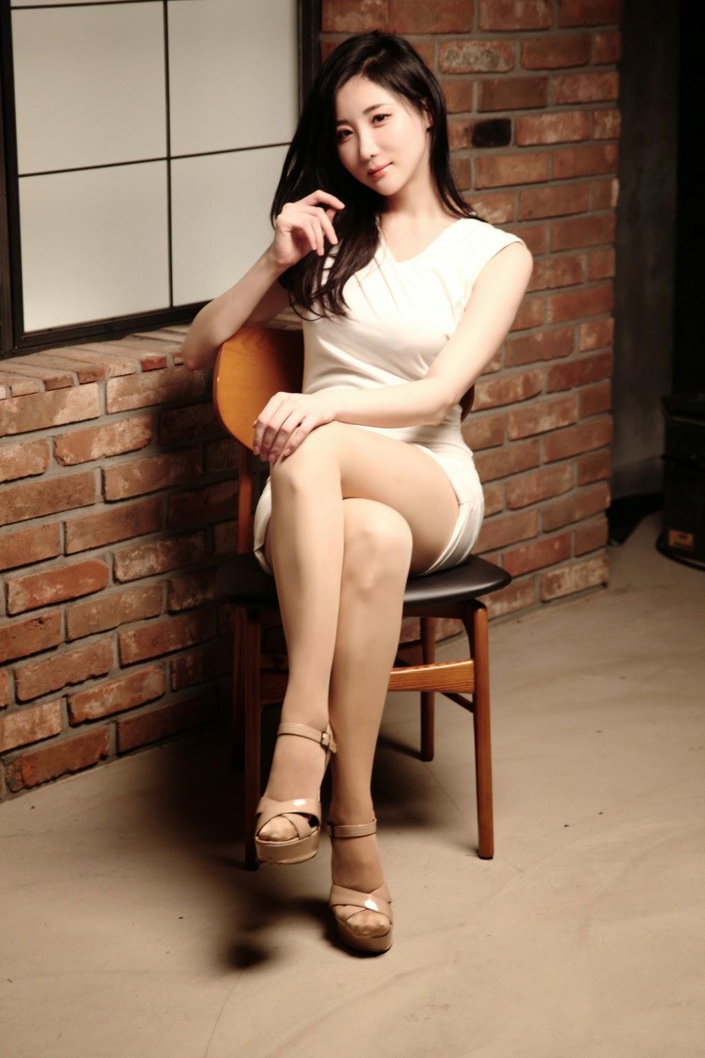 3 Yeon Da Bin- Three new studio sets - very cute asian girl - girlcute4u.blogspot.com