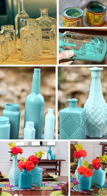 Kerajinan Tangan Dari Botol Bekas, Vas Botol Bekas 6