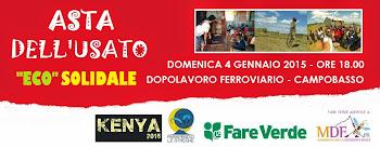 4 gennaio 2015: TORNA L'ASTA ECO-SOLIDALE DELL'USATO AL DOPOLAVORO FERROVIARIO