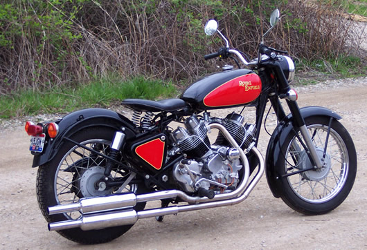 10 Most Successful Royal Enfield Modifications Fullonpics