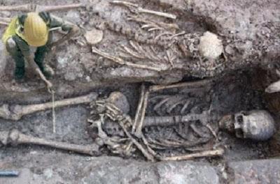 Esqueletos de Gigantes encontrados