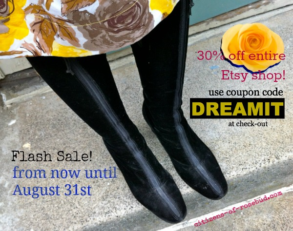 Flash Sale! 30% OFF