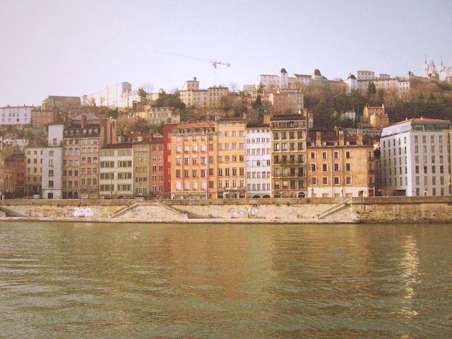 Lione, Vieux Lyon sul fiume Saona