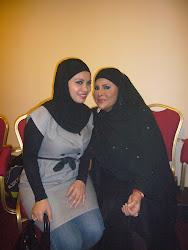 With Datuk Sharifah Aini