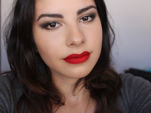 stila all day liquid lipstick beso swatch lip face