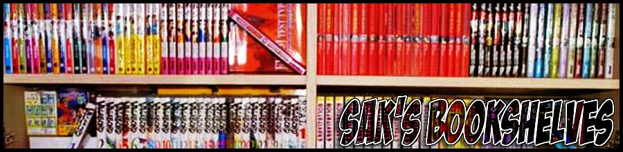 Sak's bookshelves