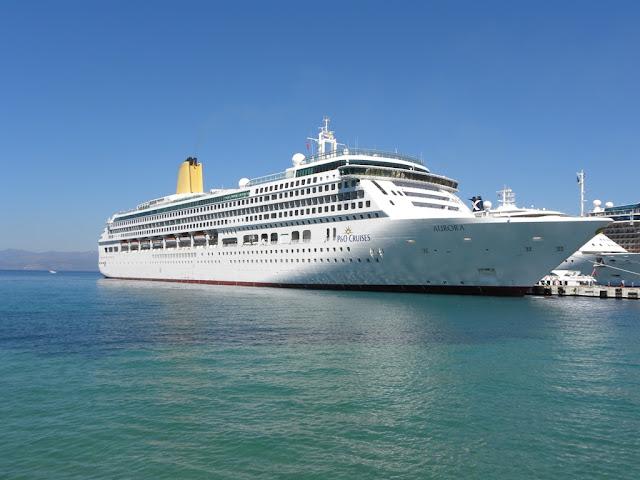 Cruise ships Kusadasi