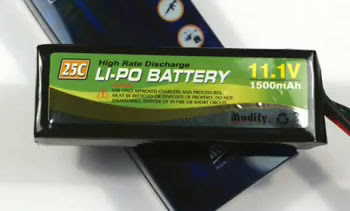 Li-Po Battery Cell Safety Image