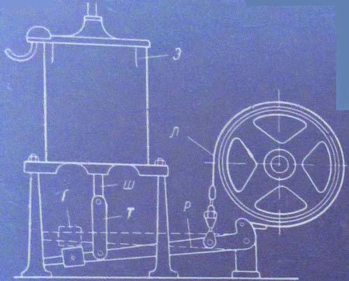 Схема ленточного тормозного устройства
