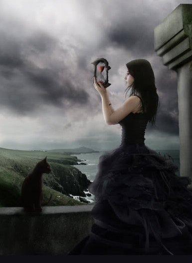 Cat Lovin' Witch