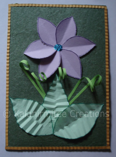 Craft Ideas For Kids Making Beautiful Cards With Paper Cut Outs