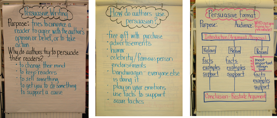 Phrases for persuasive writing