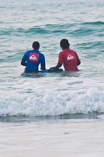 Surf instructors Newquay