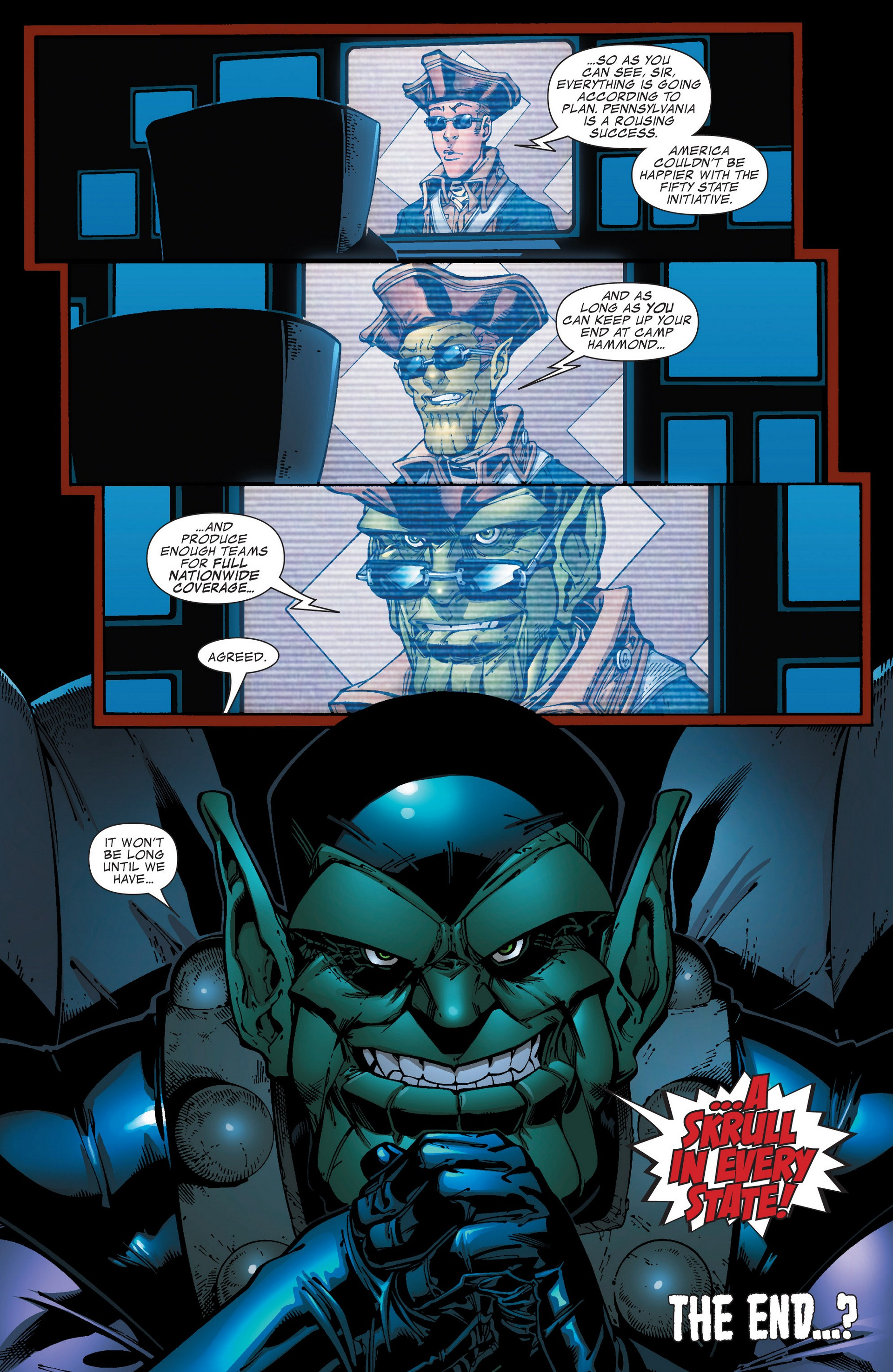 Read online Secret Invasion: The Infiltration comic -  Issue #4 - 38
