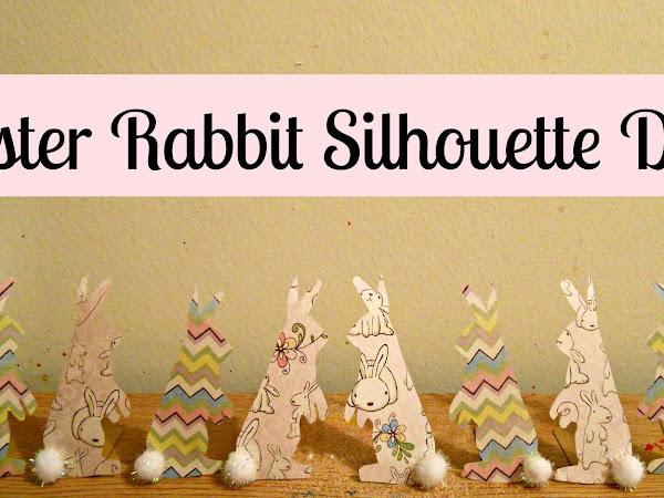 Easter Rabbit Silhouette DIY