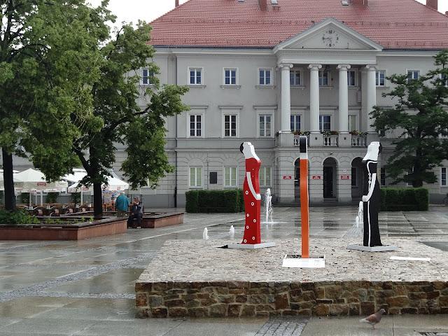 Trzy Figurki Lubomira Tomaszewskiego