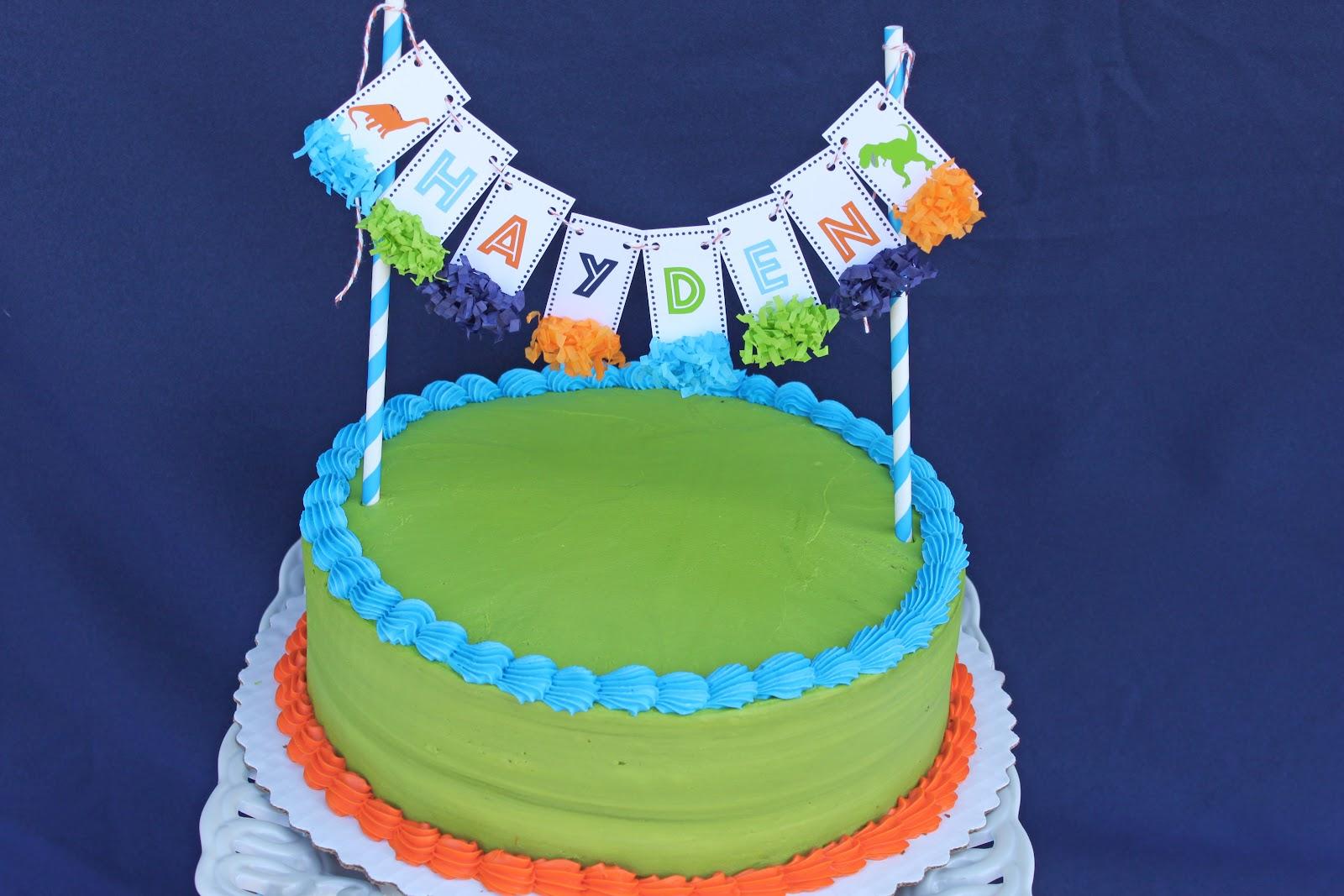 Fred Meyers Cake Order