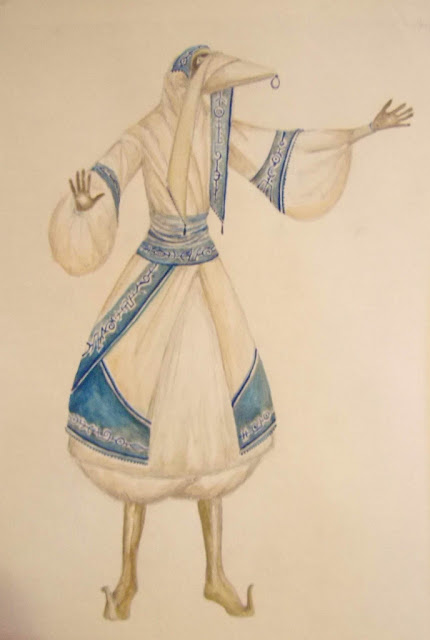 A tribal member of the T'Mirineh, Ocycan Desert