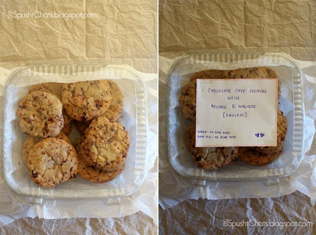 give baked goods as gifts at lunch or dinner invites