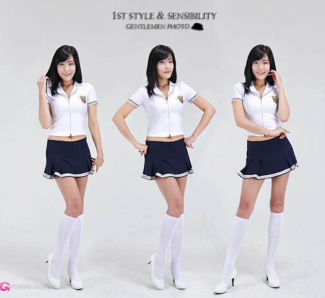 1 School Girl Yook Ji Hye-Very cute asian girl - girlcute4u.blogspot.com