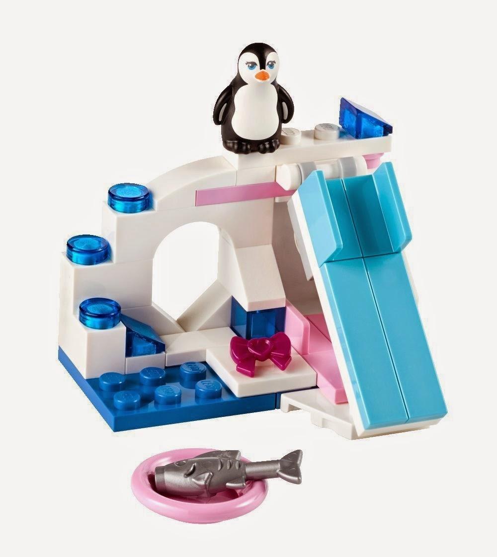 TOYS - LEGO Friends - 41043 La zona de juegos de la pingüino  Juguete Oficial | Lego Friends Series 4 | A partir de 5 años