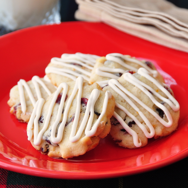 Cranberry Almond Orange Cookies