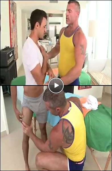 male massage by men video