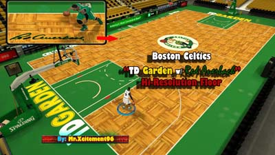 Nba 2k12 boston celtics floor patch nba2k org